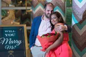 """""""Thank you for setting up the most romantic proposal I could have ever dreamt about. The details were perfect and the room was romantic, quiet and very glamorous. Samar loved every moment of it""""  Jamil, Lebanon"""