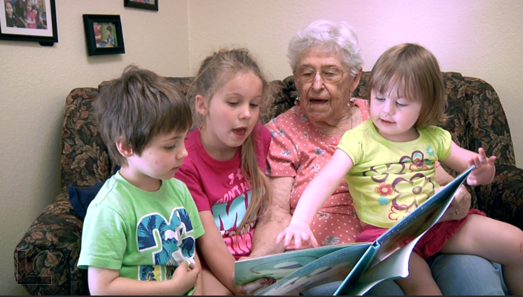 Willson House Child Development Center, Oregon's first intergenerational child development program, has children and UMRC residents learning and growing together.
