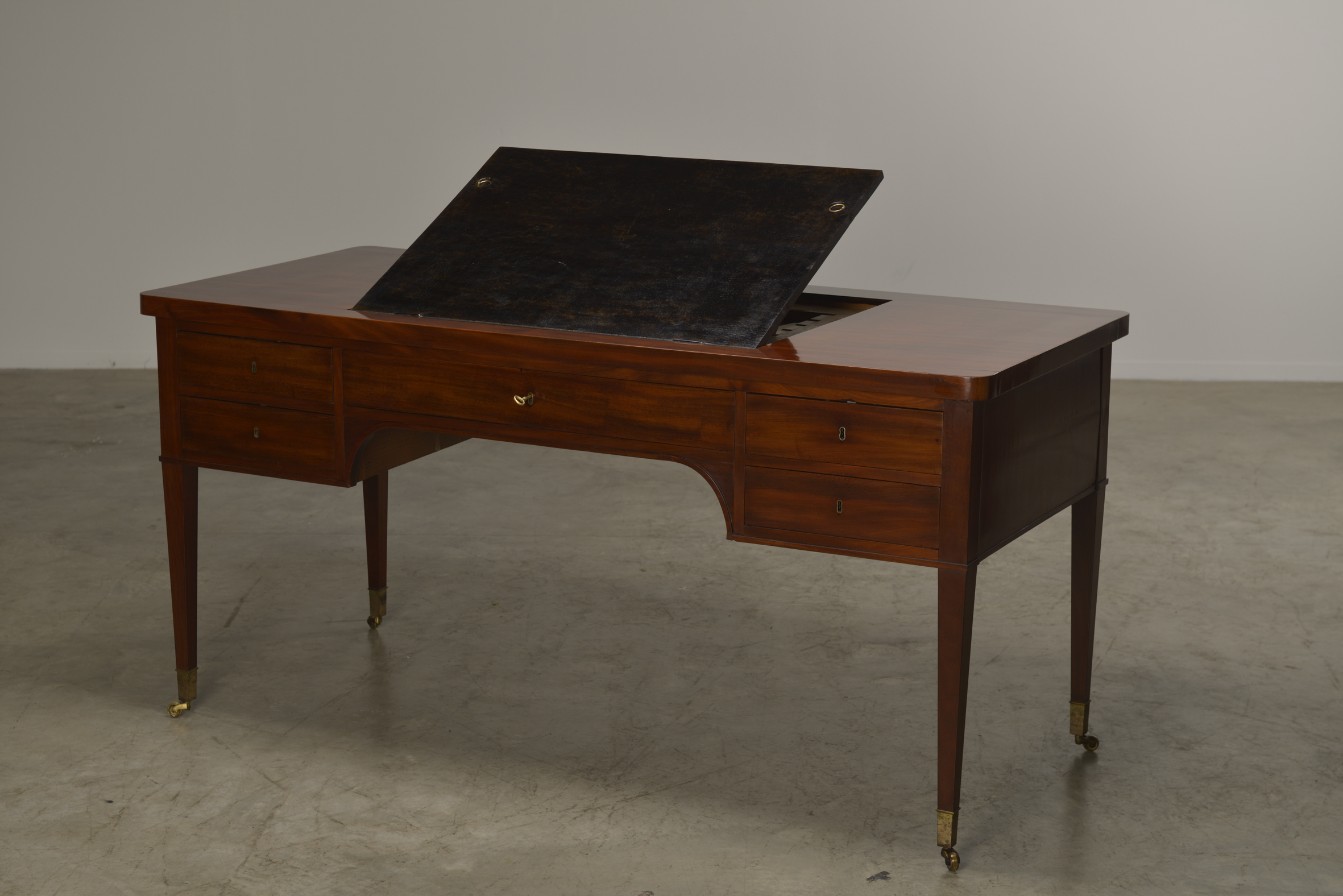 Danish Architects or reading desk in mahogany from Christiansborg Slot, Copenhagen, Circa 1820-30