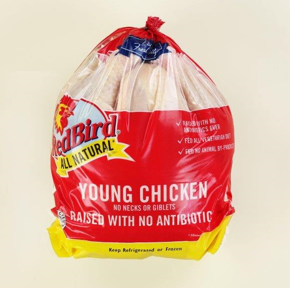Antibiotic Free Red Bird Farms Whole chicken