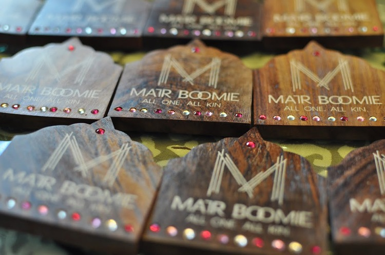 Matr Boomie magnets are hand-carved and made with sustainable rosewood.