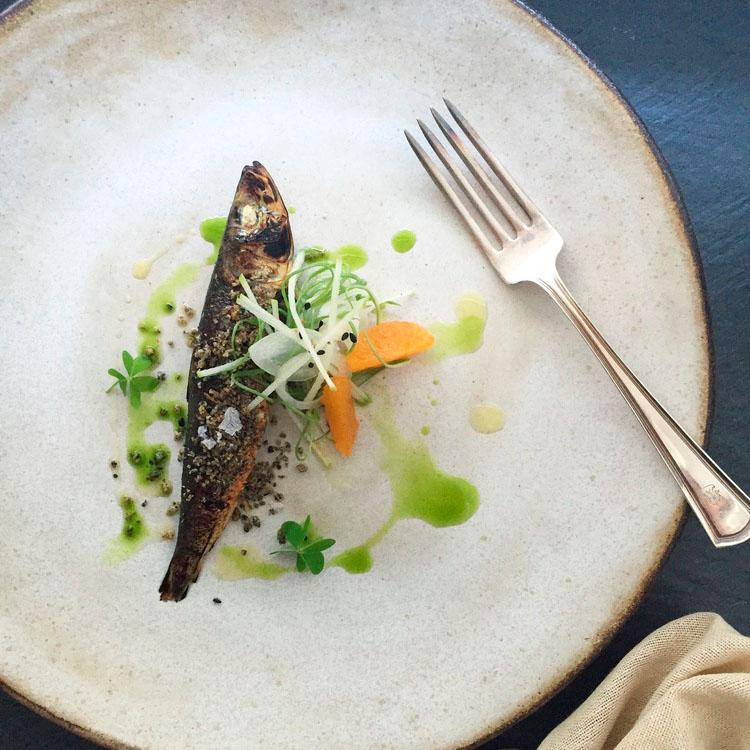 Dinner Plate - White Chamois - ChefMelissaKing - .jpg