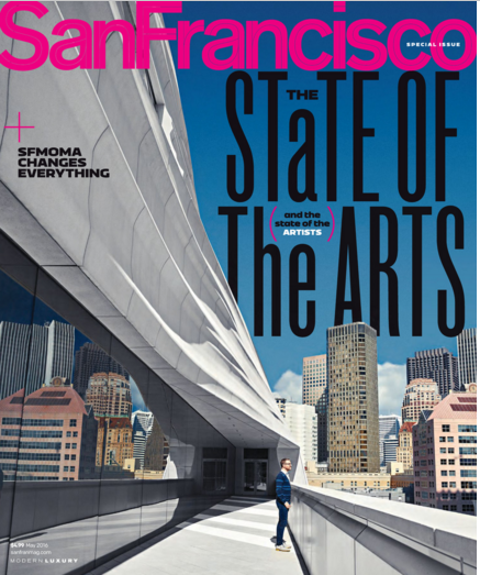 San Francisco Magazine - Cover Page - May 2016 - Page 82:83 - MMclay Press Mention.png