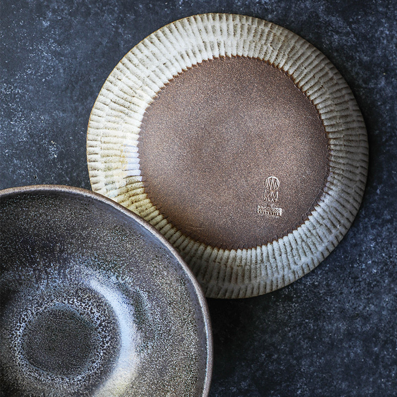 10%22 Serving Bowl (Eelskin) and 9.75%22 Pasta Bowl (bottom view in White Chamois) - TPC(14 of 109).jpg