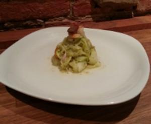 Pesto Squash Pasta