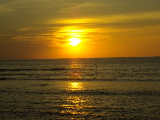 take a vacation sunset beach philippines