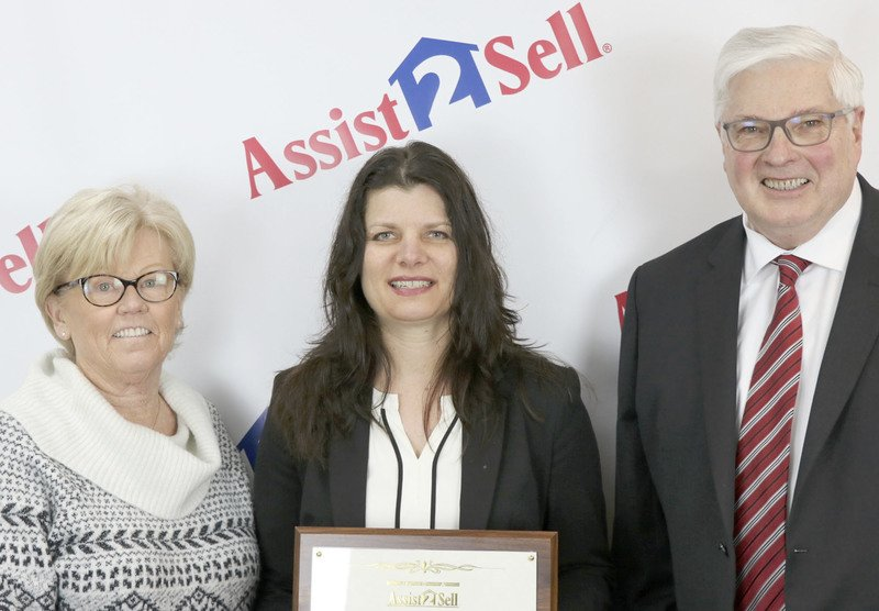 Francine Kitkowski, a veteran REALTOR®, is the owner/broker of new offices in Marinette and Menominee, Assist 2 Sell Buyers and Sellers Realty, LLC. She purchased the franchise in January and attended training at the home office in Reno, Nevada. She is pictured with company founders, Mary Pomin and Lyle Martin.