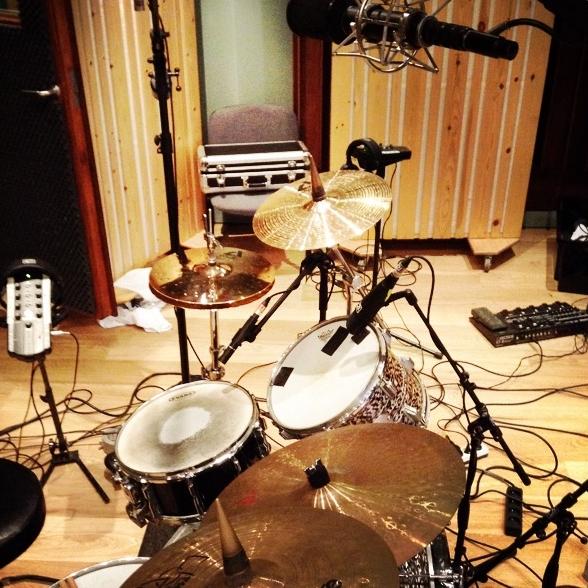 Frozen Penguins Drum Recording 1.JPG