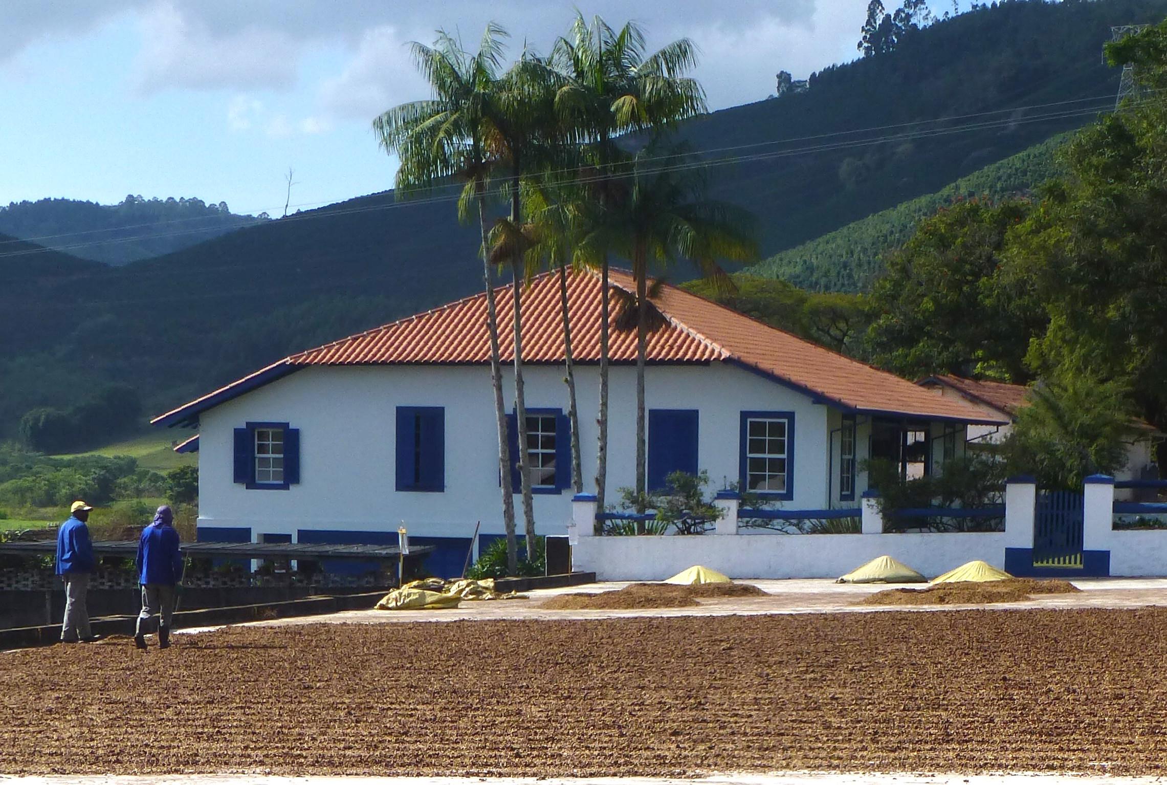 The beautiful Fazenda Recreio, one of our family's farms in Brazil.