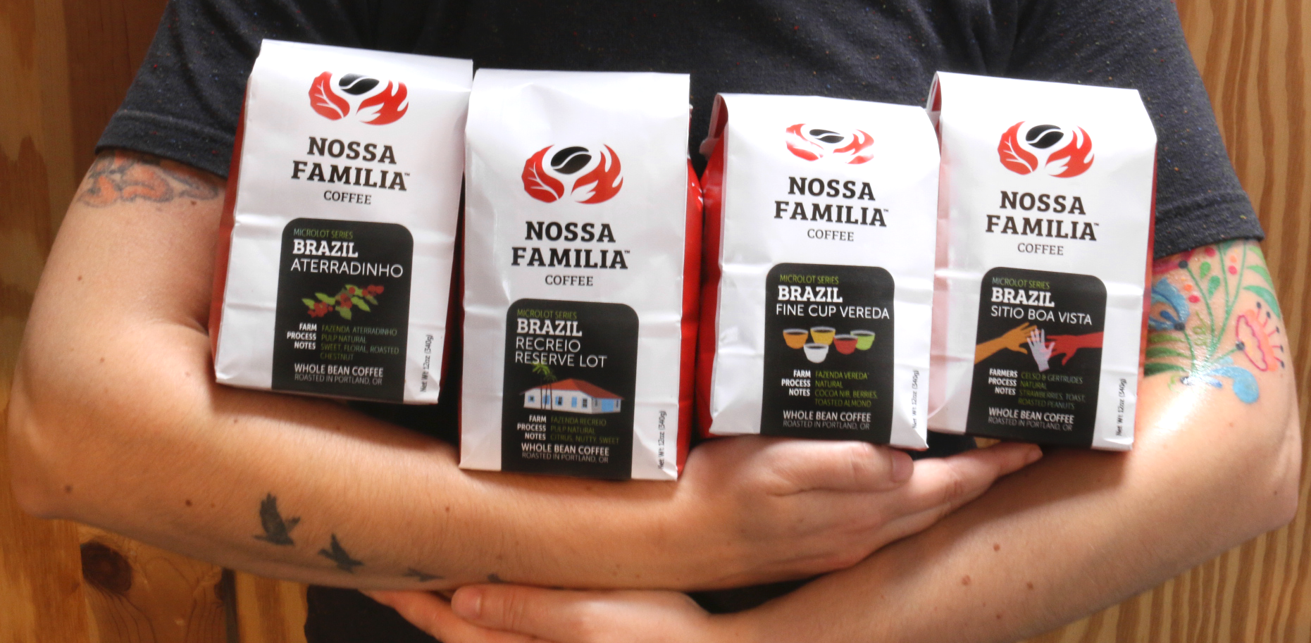 Introducing our four new Brazilian microlots from four special farms