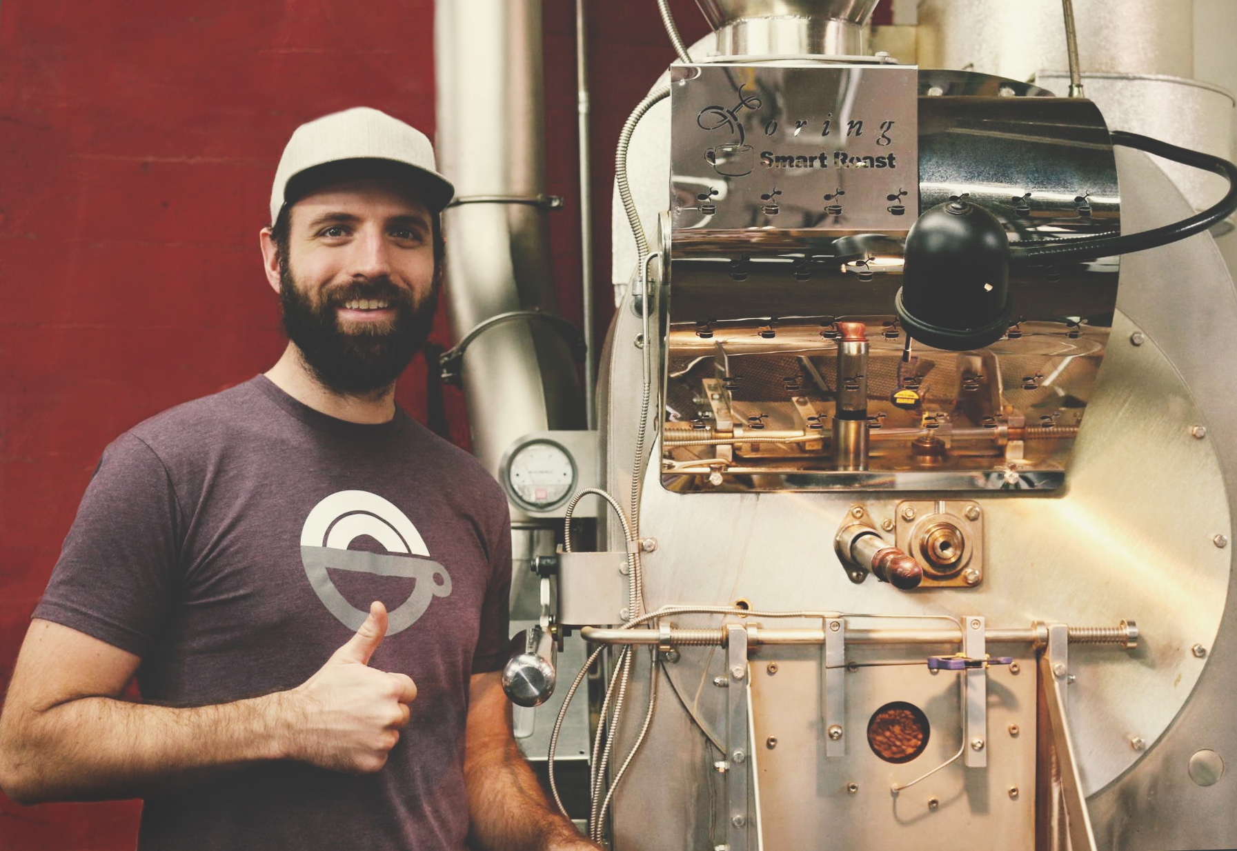 Rob Hoos - Nossa Familia Coffee with Loring Roaster