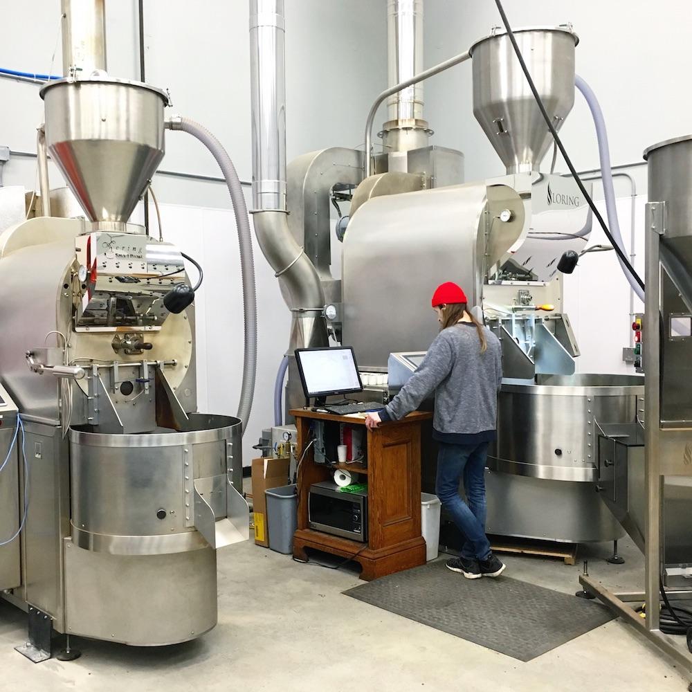 Nossa Familia Coffee - Roastery HQ with Loring Roasters in Portland, Oregon