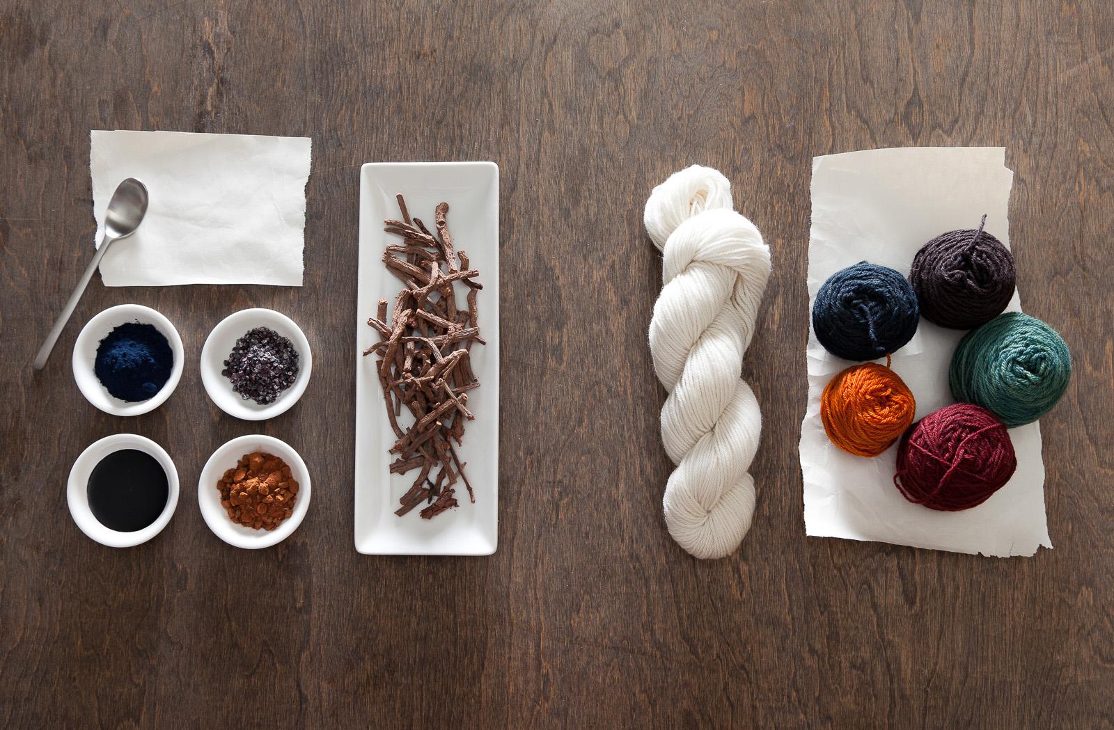 dye ingredients, client: Tom Milewski Design