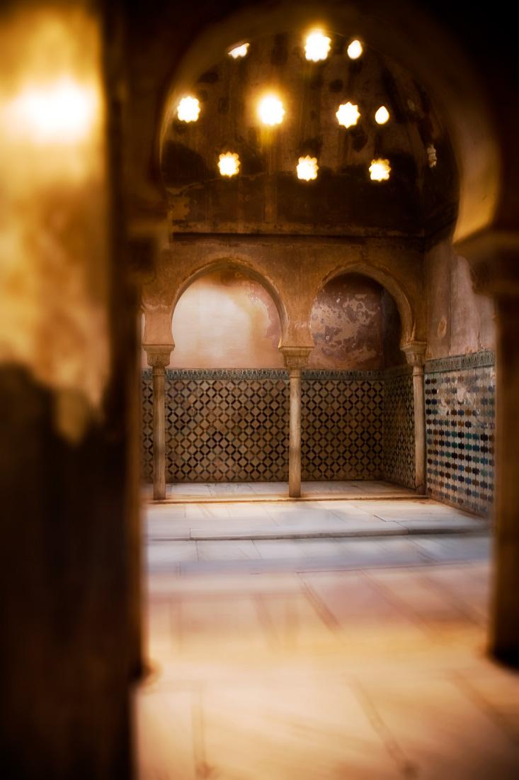 Inside the Alhambra, Granada, Spain