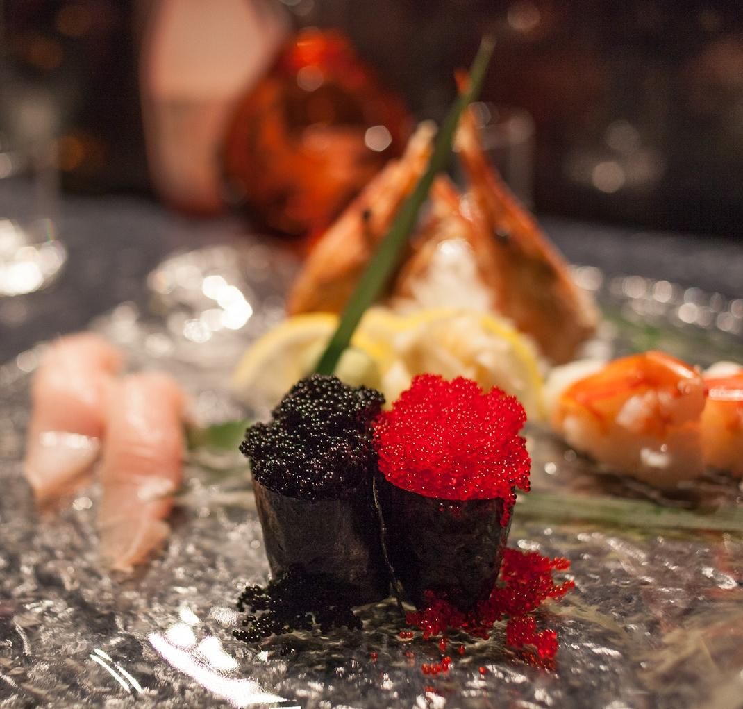 Sushi at Shiku, client: Seattle Weekly