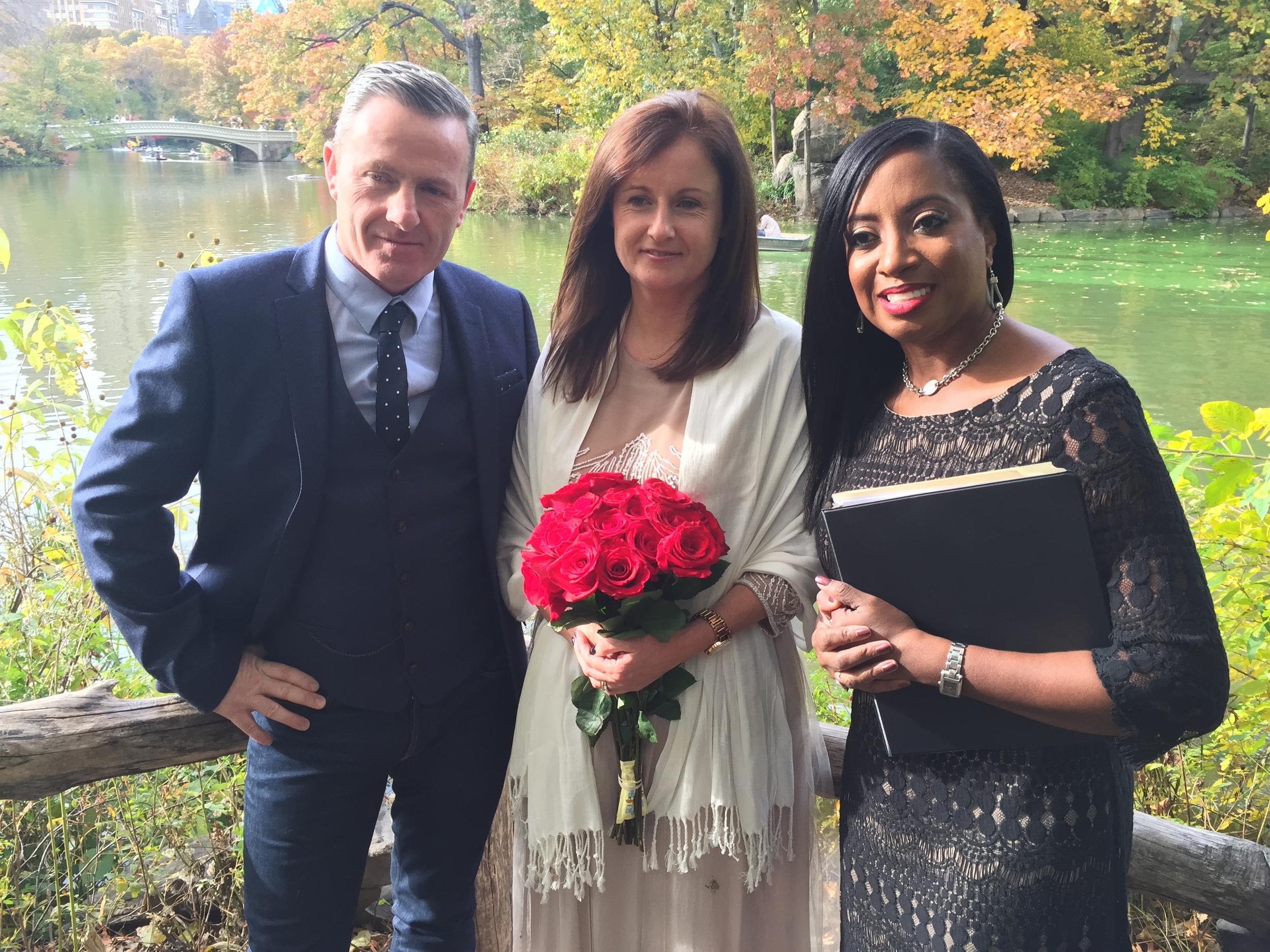 Wedding Officiant | New York City | New Jersey | Philadelphia