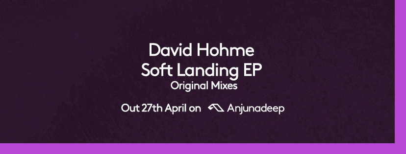 Pre-save the new Soft Landing EP from David Hohme and add it to your Spotify queue here:  https://Anjunadeep.lnk.to/DHSLEPas