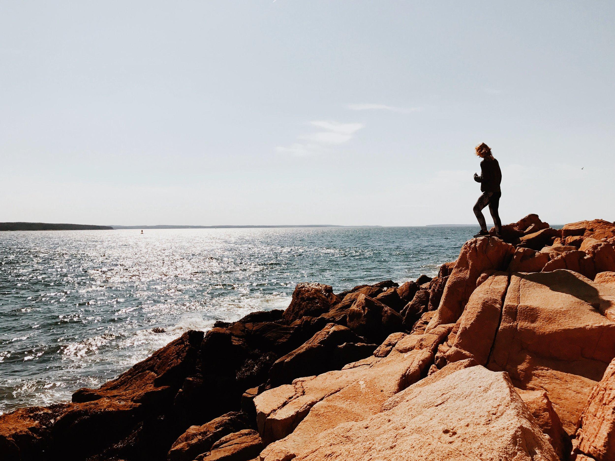 Exploring the coast of Maine