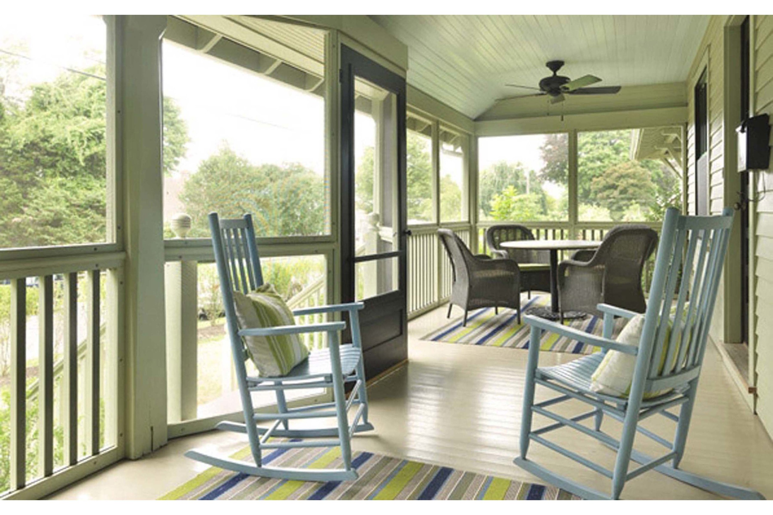 Powers Residence Remodel, Front Porch