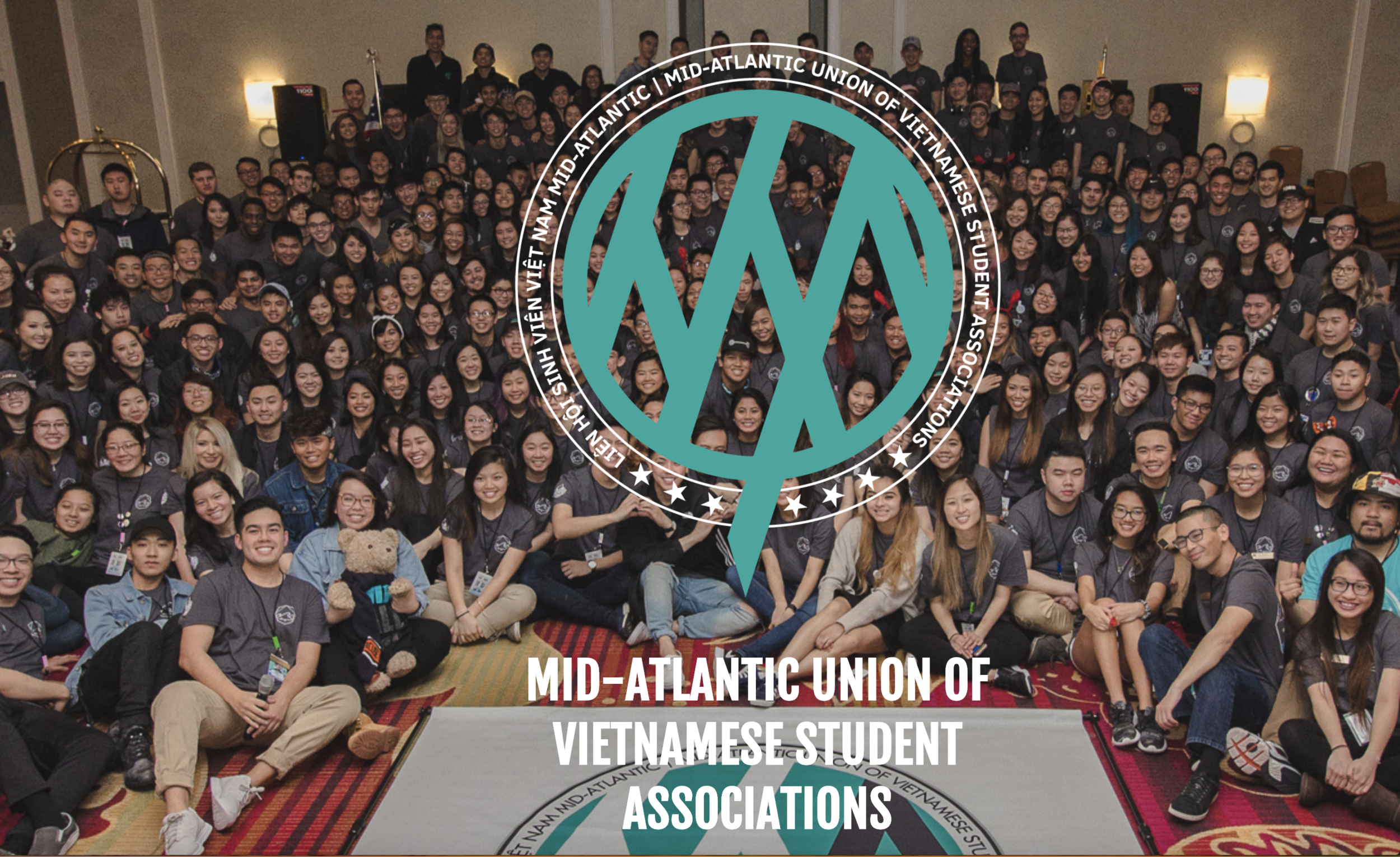 """MAUVSA - """"MAUVSA […] unifies the Vietnamese Student Associations (VSAs) of the Mid-Atlantic region, and empowers young Vietnamese Americans by fostering cultural awareness, promoting social justice, and developing leadership."""""""