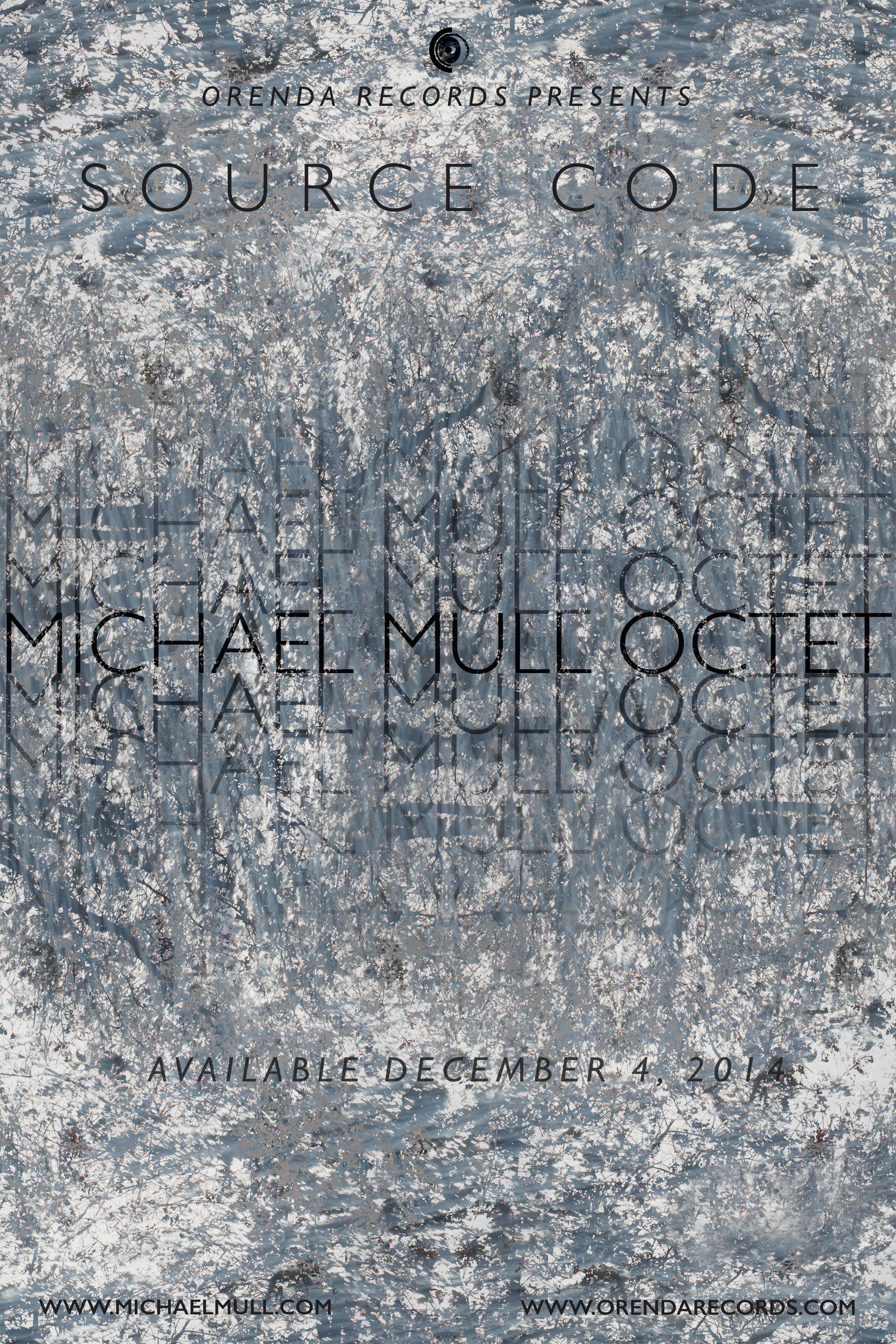 "Michael Mull ""Source Code"" In Store Poster"