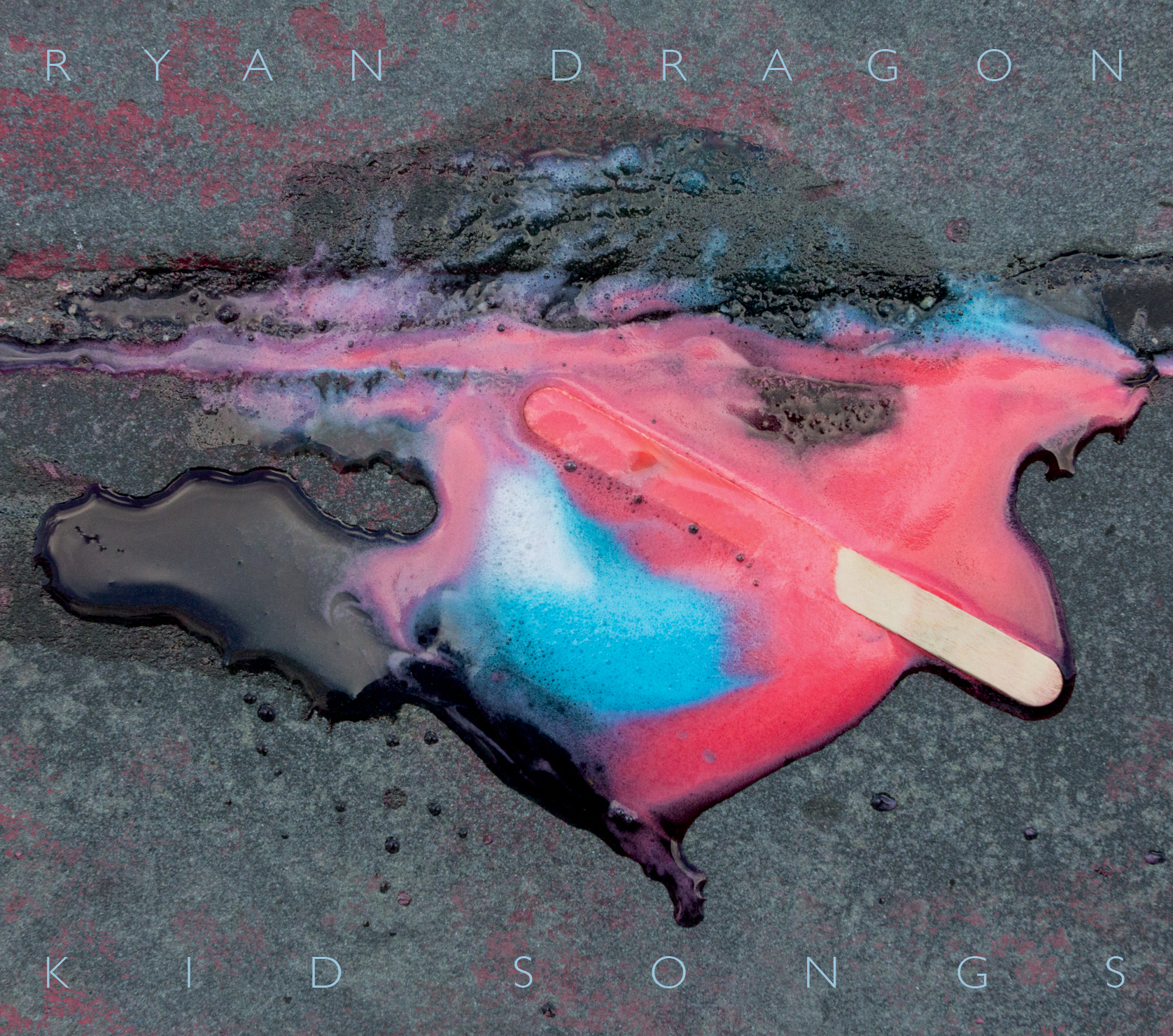 "Ryan Dragon ""Kid Songs"" Album Cover"