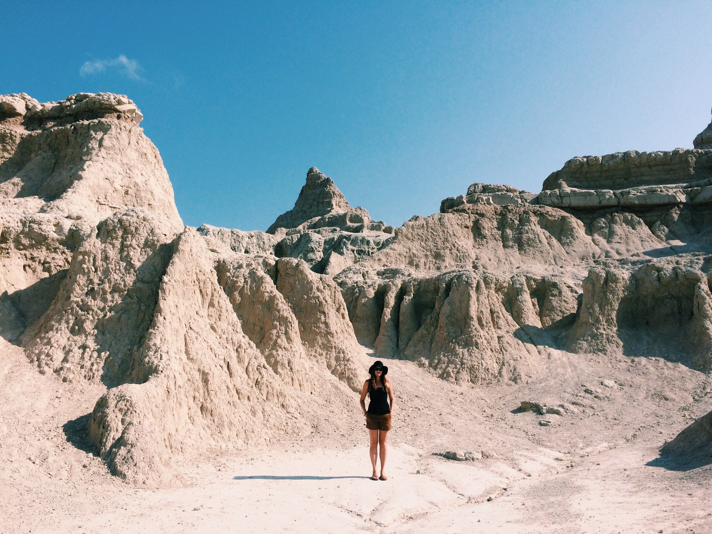 And a quick stop in the Badlands