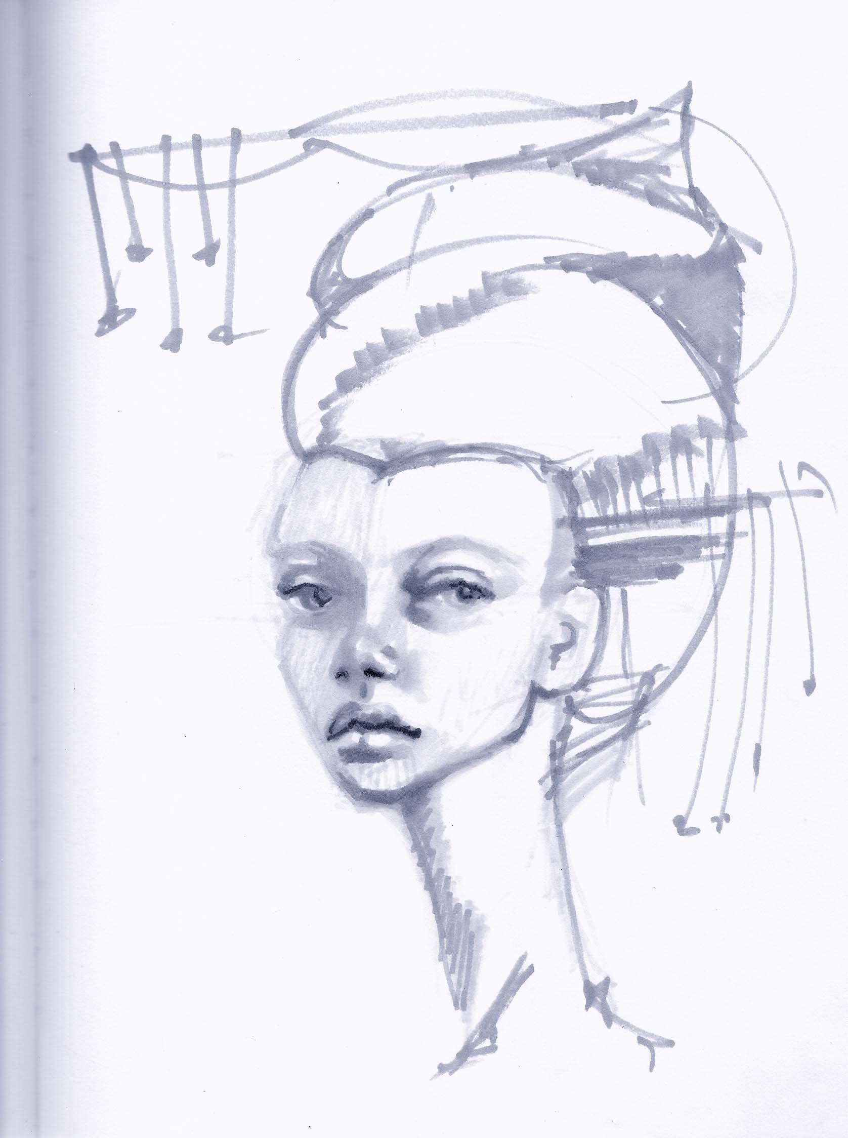 wynwood-artist-women-sketches-ivette-cabrera