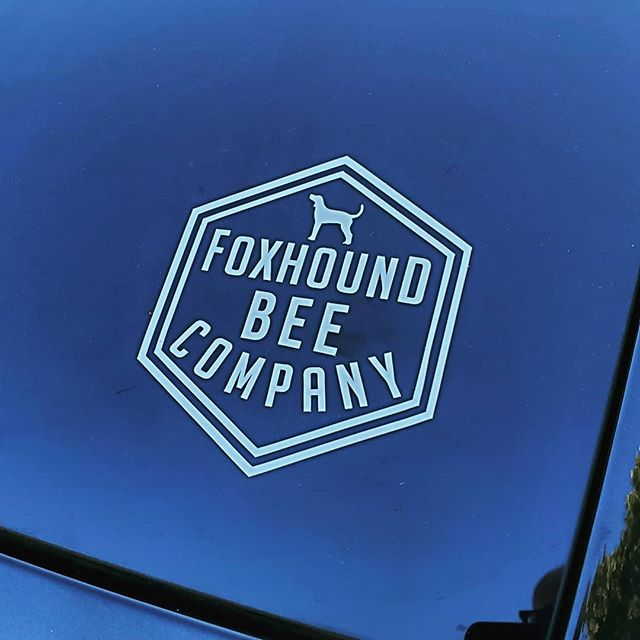 Got some new decals in from @stickermule. They look sharp so we plan on getting some more options in. . . . . . . #beekeeping #bees #beekeeper #honeybee #savethebees #albeeks #instagrambham #alabama #nature #honey #rawhoney #buylocal #wildlife #insectsofinstagram #bee #stickermule #sticker #decal #logo #smallbusiness #jeep #grandcherokee