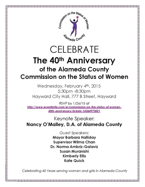 Alameda County Commission on the Status of Women