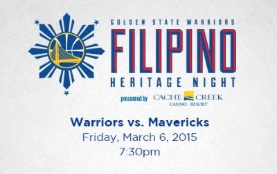 Golden State Warriors Filipino Heritage Night 2
