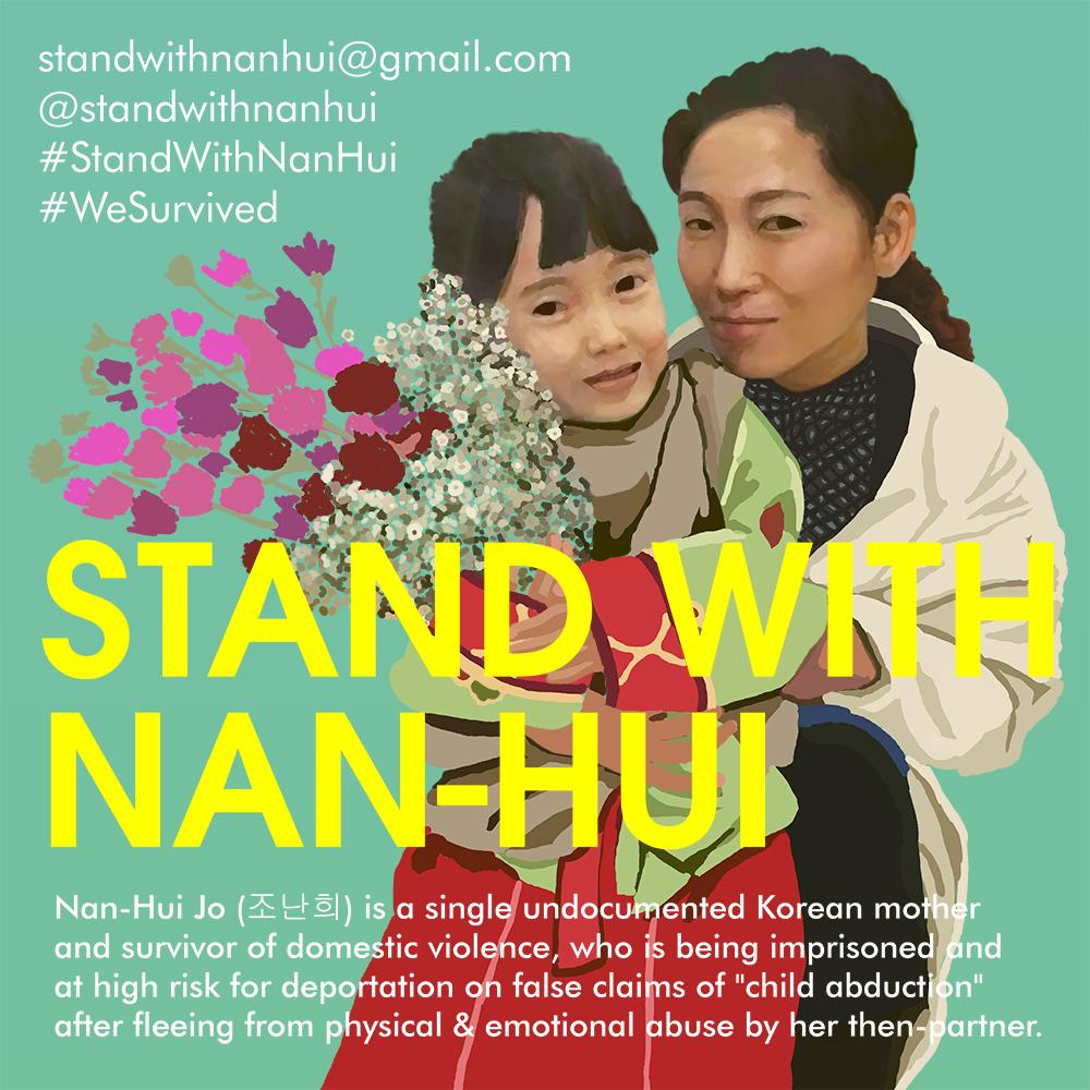 Stand with Nan-Hui
