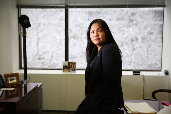 Carmelyn P. Malalis is the newly appointed leader of the Commission on Human Rights. Photo credit: Chang W. Lee/The New York Times.