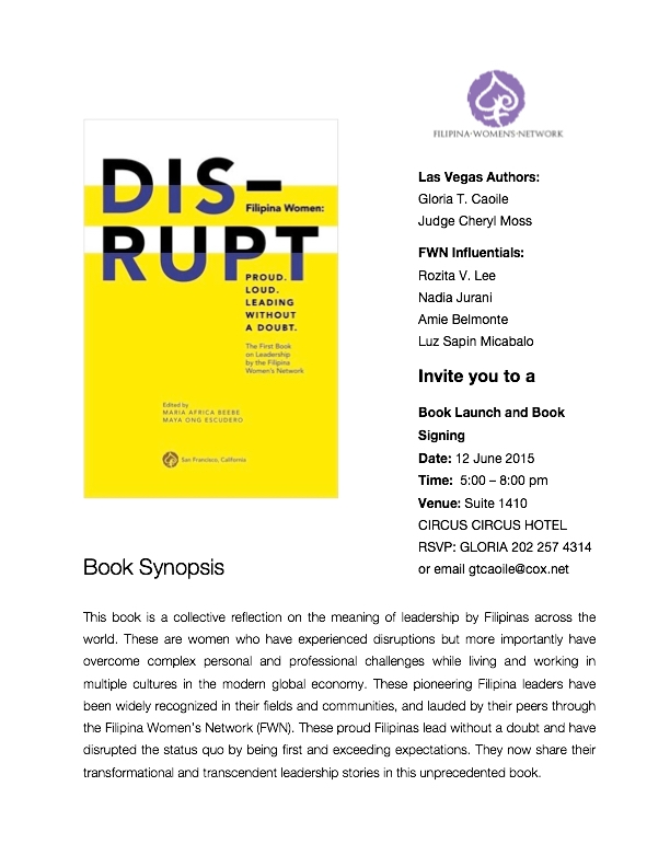 Las Vegas Book Launch