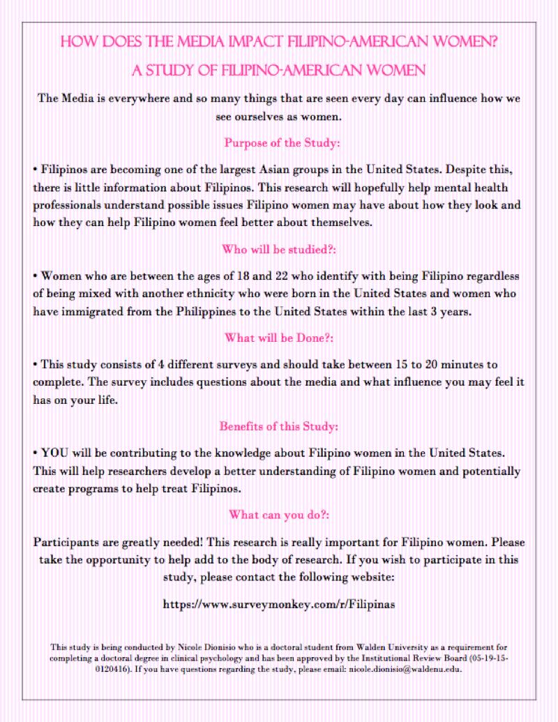 Filipina Survey
