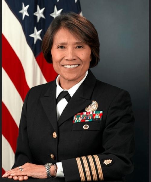 Navy Rear Admiral Raquel C. Bono. Image credit: http://www.defense.gov