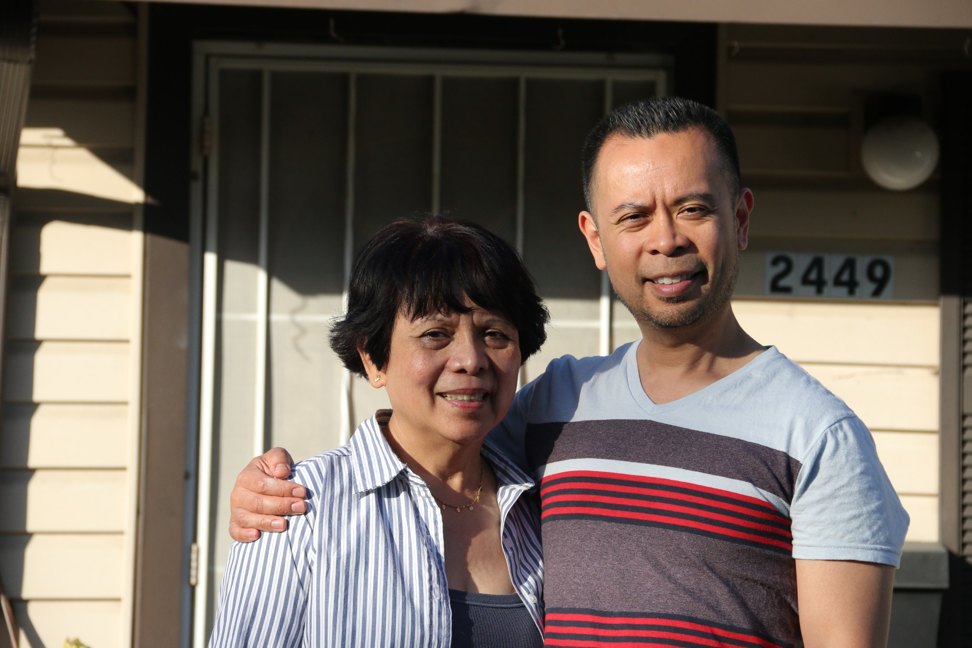 Dominic Lim, 41, is first-generation Filipino-American. He grew up never learning to speak his family's native dialect, Tagalog. (Image credit:  Ericka Cruz Guevarra/KQED )