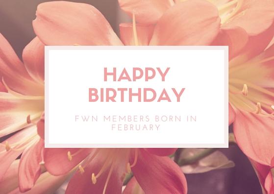 happy birthday fwn members