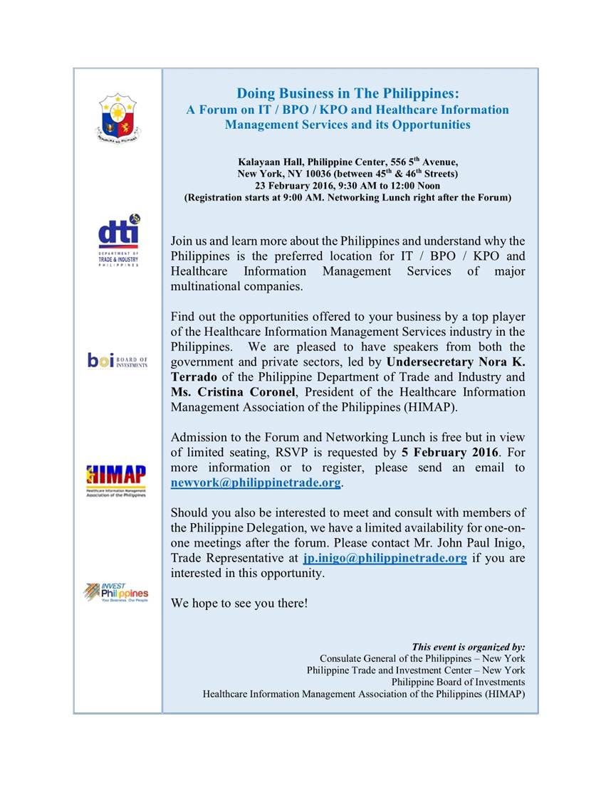 DTI-Doing Business in the Philippines