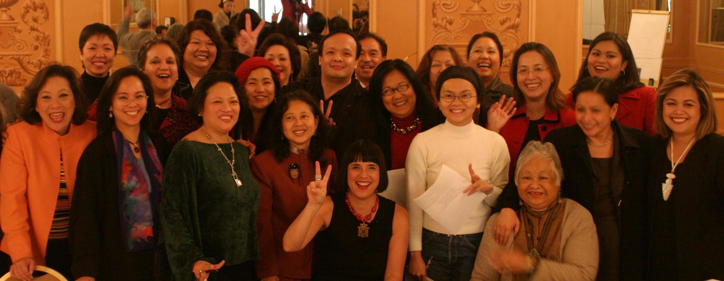 V-Day FWN 2004 San Francisco with Eve Ensler