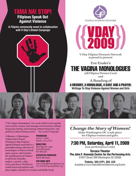 2009 V-Day FWN Washington D.C.