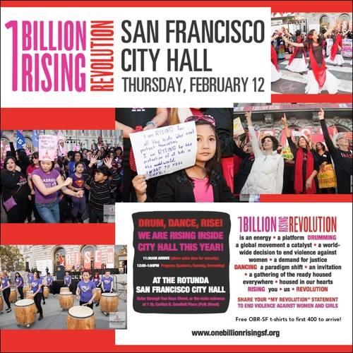 2015 V-Day FWN 1BillionRising San Francisco
