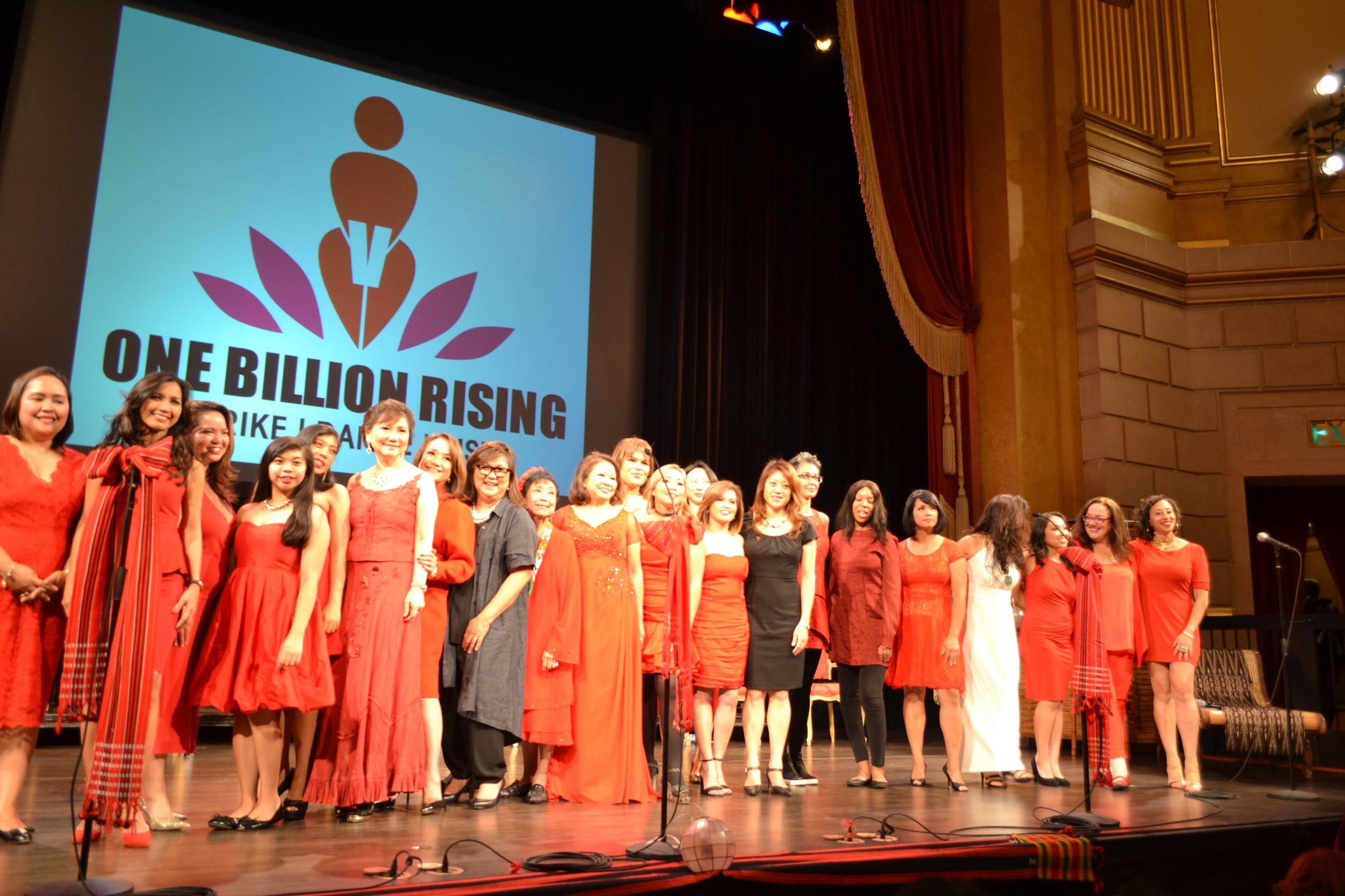 Women of Color United Against Violence,FWN V-Day 2016, San Francisco
