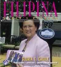FWN V-Day Las Vegas Playbill - Gloria T. Caoile