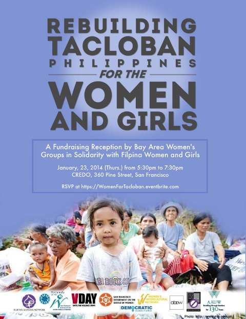 Rebuild Tacloban for the Women and Girls