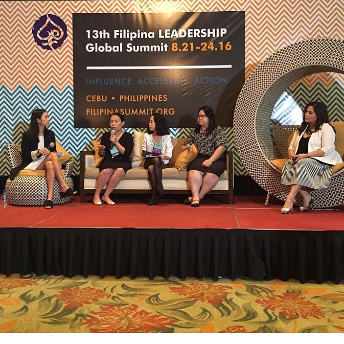 Photo Caption: Smart.Young.Unintimidated.Next Generation Leaders. Conversation with the 2016 Most Influential Filipina Women Emerging Leaders moderated by Raissa Alvero, FWN Fellow
