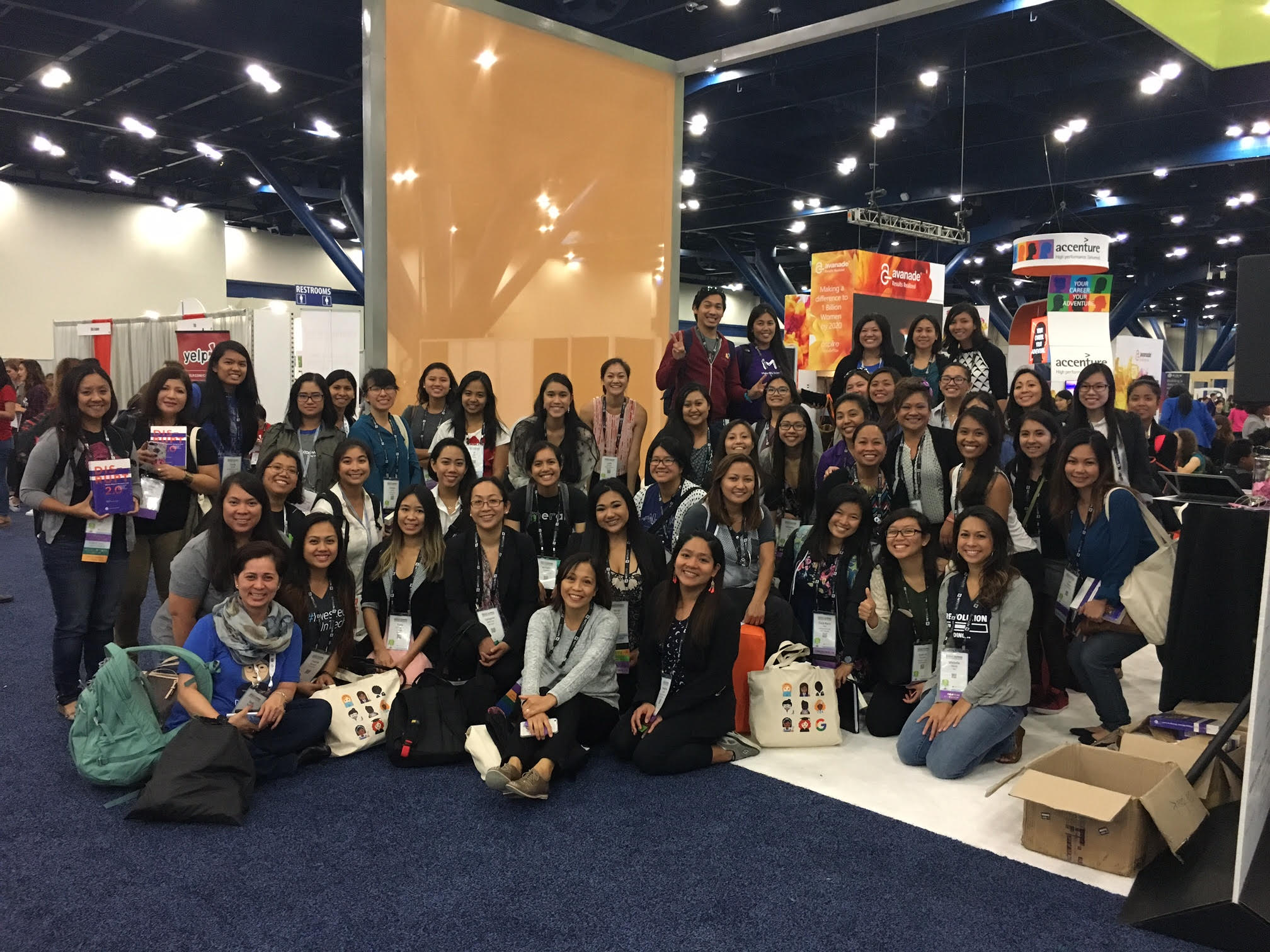 Woo Hoo! Anita Borg Institute raffled 25 copies of  DISRUPT 2.0: Filipina Women: Daring to Lead  to an eager Filipina Millennials  during the DISRUPTing Houston reading on October 13 broadcasted live from the Grace Hopper Celebration of Women in Computing in Houston Conference.