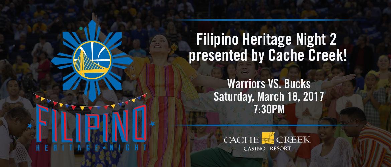 Filipino Heritage Night 2 - March 18, 2017