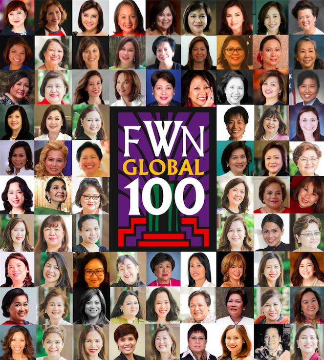 Global FWN100 2016 Awardee Collage