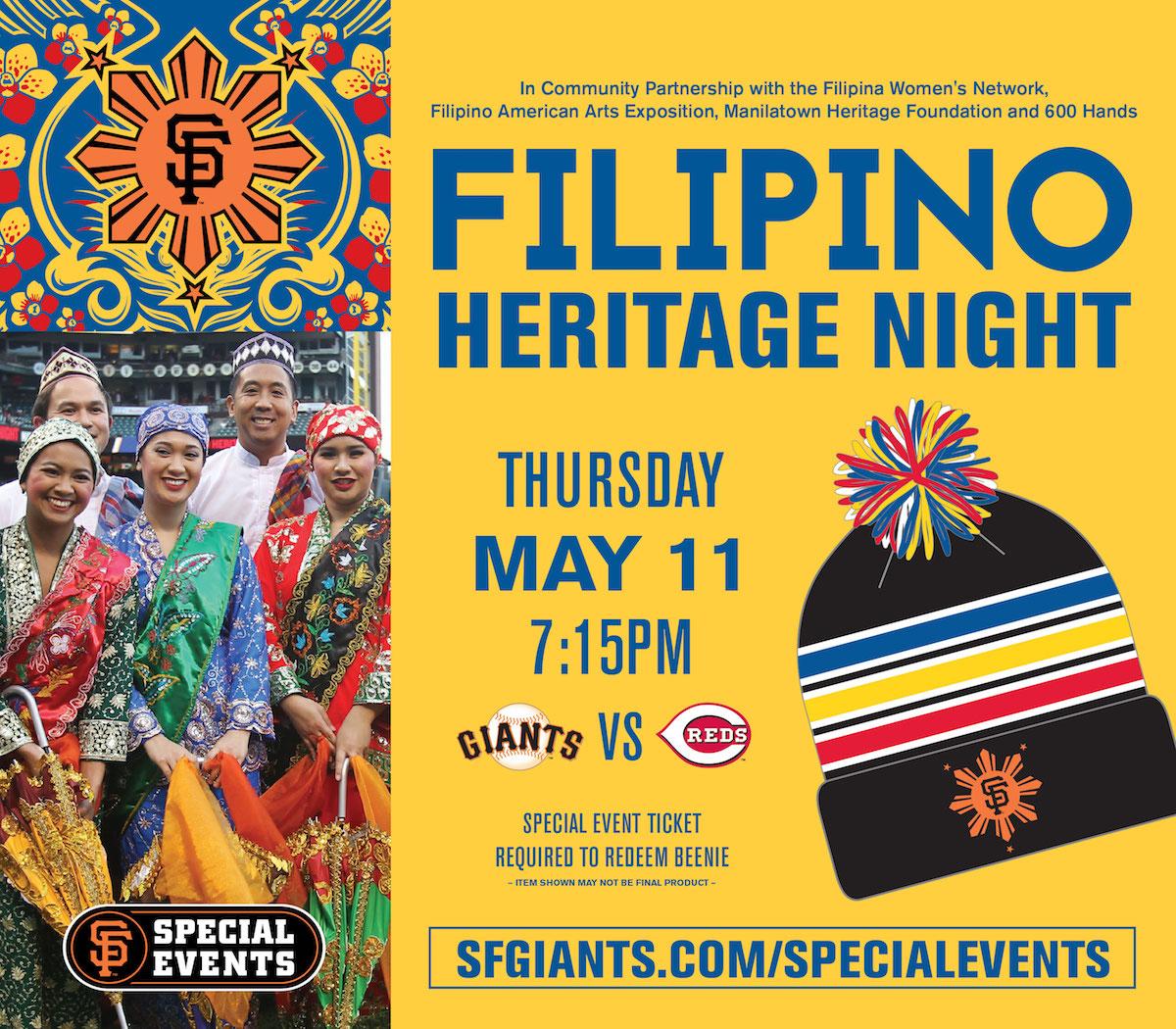SF Giants Filipino Heritage Night 1 May 2017